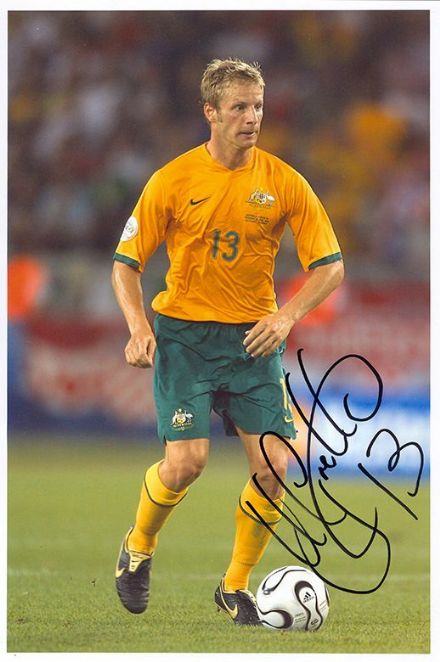 Vince Grella, Australia, signed 12x8 inch photo.